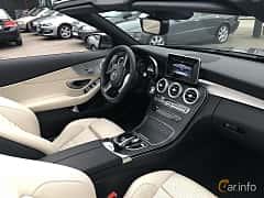 Interiör av Mercedes-Benz C 180 Cabriolet 1.6 9G-Tronic, 156ps, 2017