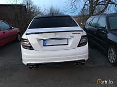 Bak av Mercedes-Benz C 350 3.5 V6 7G-Tronic, 272ps, 2007