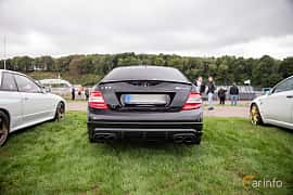 Bak av Mercedes-Benz C 63 AMG 6.3 V8 7G-Tronic, 487ps, 2010 på Autoropa Racing day Knutstorp 2018