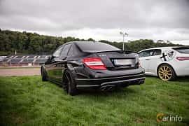 Bak/Sida av Mercedes-Benz C 63 AMG 6.3 V8 7G-Tronic, 487ps, 2010 på Autoropa Racing day Knutstorp 2018