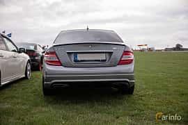 Bak av Mercedes-Benz C 63 AMG 6.3 V8 7G-Tronic, 457ps, 2008 på Vallåkraträffen 2018