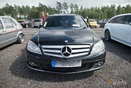 Fram av Mercedes-Benz C 350 CDI 3.0 V6 7G-Tronic, 224ps, 2010 på Tyskträffen 2017
