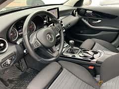 Interior of Mercedes-Benz C 220 BlueTEC  Manual, 170ps, 2015