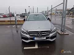 Front  of Mercedes-Benz C 350 T e 2.0 7G-Tronic Plus, 279ps, 2015