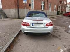 Bak av Mercedes-Benz E 250 CDI Cabriolet BlueEFFICIENCY  5G-Tronic, 204ps, 2011