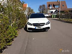 Front  of Mercedes-Benz E 63 AMG S 4MATIC  , 585ps, 2014