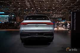 Back of Mercedes-Benz EQC 400  Single Speed, 408ps, 2019 at Geneva Motor Show 2019