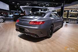 Bak/Sida av Mercedes-Benz S 500 4MATIC Coupé 4.6 V8 4MATIC 7G-Tronic Plus, 455ps, 2017 på North American International Auto Show 2017