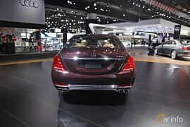 Bak av Mercedes-Benz Maybach S 500 4Matic 4.6 V8 4MATIC 7G-Tronic Plus, 455ps, 2017 på North American International Auto Show 2017