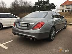 Back/Side of Mercedes-Benz S 500 4MATIC 4.6 V8 4MATIC 7G-Tronic Plus, 455ps, 2015