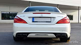 Back of Mercedes-Benz SL 63 AMG 5.5 V8 , 585ps, 2015