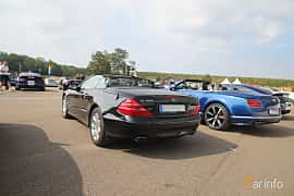 Back/Side of Mercedes-Benz SL 350  5G-Tronic, 245ps, 2004 at Autoropa Racing day Knutstorp 2019