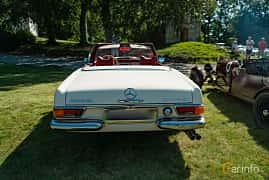 Back of Mercedes-Benz 280 SL  Automatic, 170ps, 1971 at Sportbilsklassiker Stockamöllan 2019