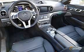 Interior of Mercedes-Benz SL 63 AMG 5.5 V8 , 585ps, 2015