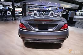 Bak av Mercedes-Benz SLC 300 2.0 9G-Tronic, 245ps, 2017 på North American International Auto Show 2017