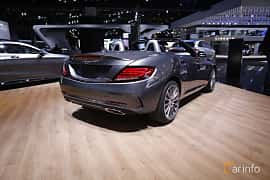 Bak/Sida av Mercedes-Benz SLC 300 2.0 9G-Tronic, 245ps, 2017 på North American International Auto Show 2017