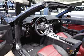 Interiör av Mercedes-Benz SLC 300 2.0 9G-Tronic, 245ps, 2017 på North American International Auto Show 2017