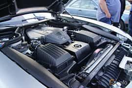 Engine compartment  of Mercedes-Benz SLS AMG Coupé 6.3 V8 AMG Speedshift DCT, 571ps, 2011 at Onsdagsträffar på Gammlia v.33 / 2018