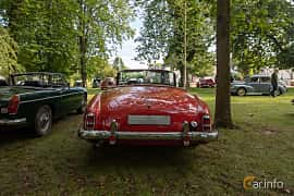 Back of Mercedes-Benz 190 SL Roadster  Manual, 105ps, 1958 at Billesholms Veteranbilsträff 2019 augusti