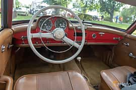 Interior of Mercedes-Benz 190 SL Roadster  Manual, 105ps, 1958 at Billesholms Veteranbilsträff 2019 augusti