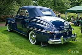 Bak/Sida av Mercury Eight Convertible 3.9 V8 Manual, 1947 på Sofiero Classic 2018