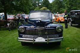 Fram av Mercury Eight Convertible 3.9 V8 Manual, 1947 på Sofiero Classic 2018