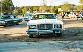 Front  of Mercury Marquis Colony Park 7.5 V8 Automatic, 223ps, 1976 at Wheelers Cruising, Vetlanda 2019