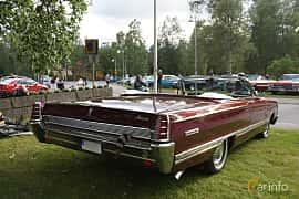 Back/Side of Mercury Park Lane Convertible 6.7 V8 Automatic, 334ps, 1966 at Onsdagsträffar på Gammlia Umeå 2019 vecka 33