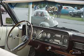 Interior of Mercury Park Lane Convertible 6.7 V8 Automatic, 334ps, 1966 at Onsdagsträffar på Gammlia Umeå 2019 vecka 33
