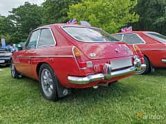 Back/Side of MG MGC GT 2.9 Manual, 145ps, 1969 at Sofiero Classic 2019