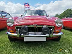 Front  of MG MGC GT 2.9 Manual, 145ps, 1969 at Sofiero Classic 2019