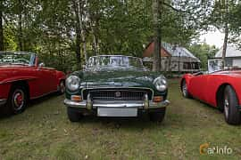 Front  of MG MGB Roadster 1.8 Manual, 95ps, 1970 at Billesholms Veteranbilsträff 2019 augusti