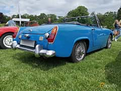 Back/Side of MG Midget 1.3 Manual, 65ps, 1968 at Sofiero Classic 2019