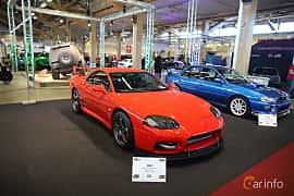 Fram/Sida av Mitsubishi 3000 GT 3.0 V6 4WD Manual, 286ps, 2000 på Bilsport Performance & Custom Motor Show 2019