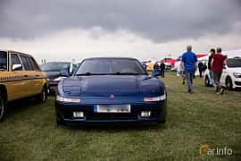 Front of Mitsubishi 3000 GT 3.0 V6 4WD Manual, 300ps, 1993 at Vallåkraträffen 2018
