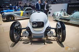 Front  of Morgan EV3 Electric Single Speed, 59ps, 2018 at Geneva Motor Show 2018