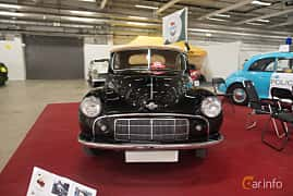 Front  of Morris Minor Tourer 0.9 Manual, 29ps, 1951 at Bilsport Performance & Custom Motor Show 2018