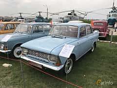 Front/Side  of Moskvitch 408 Sedan 1.4 Manual, 50ps, 1972 at Old Car Land no.1 2017