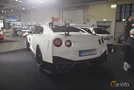 Back/Side of Nissan GT-R 3.8 V6 4x4 DCT, 530ps, 2011 at Bilsport Performance & Custom Motor Show 2019