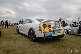 Bak/Sida av Nissan GT-R 3.8 V6 4x4 DCT, 485ps, 2009 på Vallåkraträffen 2019