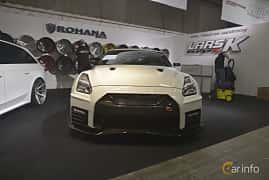 Front  of Nissan GT-R 3.8 V6 4x4 DCT, 530ps, 2011 at Bilsport Performance & Custom Motor Show 2019