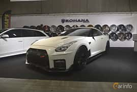 Front/Side  of Nissan GT-R 3.8 V6 4x4 DCT, 530ps, 2011 at Bilsport Performance & Custom Motor Show 2019