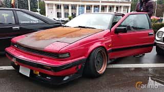 Front/Side  of Nissan Silvia Hatchback 1984 at Old Car Land no.2 2018