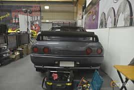 Back of Nissan Skyline GT-R Coupé 2.6 4WD Manual, 280ps, 1990 at Bilsport Performance & Custom Motor Show 2019