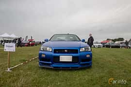 Fram av Nissan Skyline GT-R Coupé 2.6 4WD Manual, 280ps, 1999 på Vallåkraträffen 2019