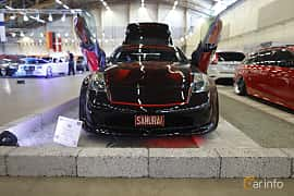 Fram av Nissan 350Z 3.5 V6 Manual, 313ps, 2007 på Bilsport Performance & Custom Motor Show 2019