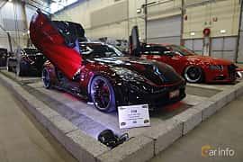 Fram/Sida av Nissan 350Z 3.5 V6 Manual, 313ps, 2007 på Bilsport Performance & Custom Motor Show 2019