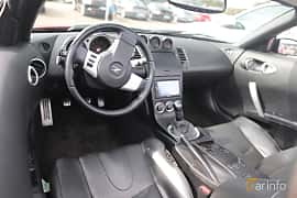 Interior of Nissan 350Z Roadster 3.5 V6  Manual, 280ps, 2005 at Autoropa Racing day Knutstorp 2019