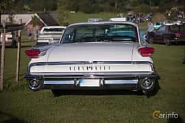 Bak av Oldsmobile 88 2-door Holiday Hardtop 6.1 V8 Automatic, 1959 på Bil & Mc-café vid Tykarpsgrottan v.33 (2017)
