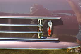 Close-up of Oldsmobile Ninety-Eight Convertible Coupé 6.1 V8 Hydra-Matic, 309ps, 1958 at Wheels & Wings 2013